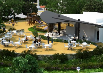 Jardin public – Largo Ribeiro do Amaral