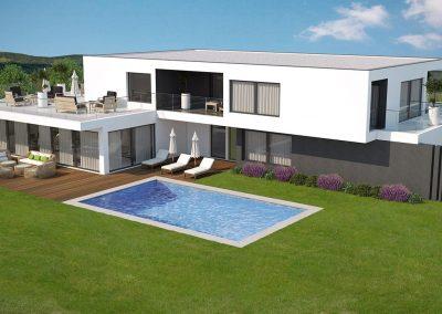 Modèle de villa 300 M²